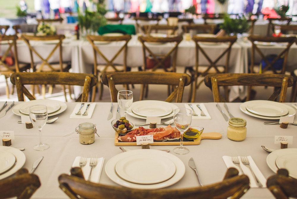 port eliot weddings food 1